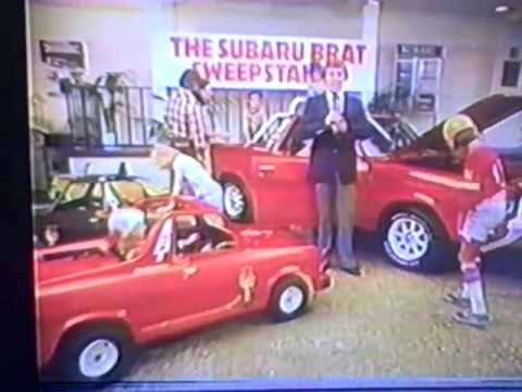 1978 Subaru Brat Sweepstakes TV commercial | PopScreen
