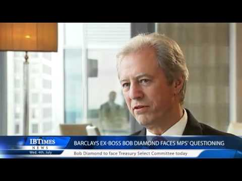 Barclays ex-boss Bob Diamond faces MPs' questioning | PopScreen