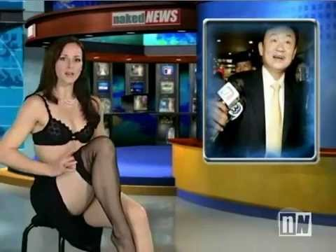 Naked News Anchor Strips | PopScreen