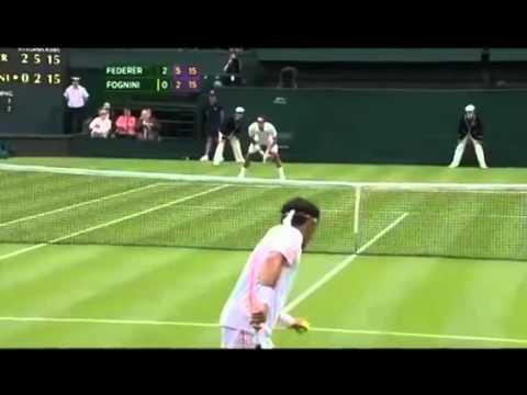 Roger Federer v Fabio Fognini | PopScreen
