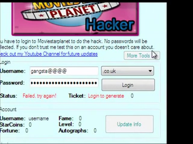 Movie Star Planet Passwords