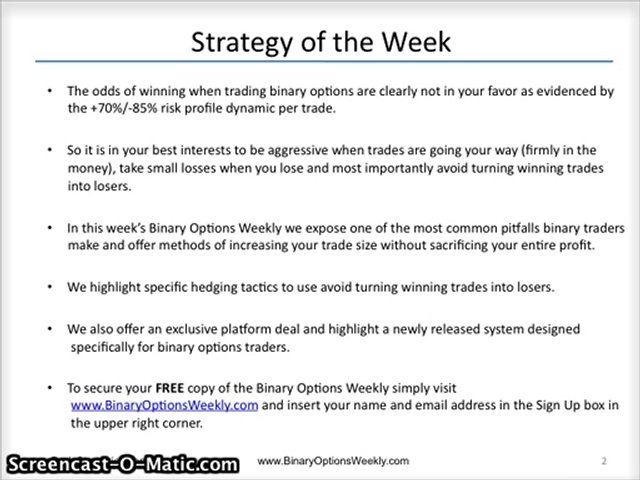 Trading spy weekly options
