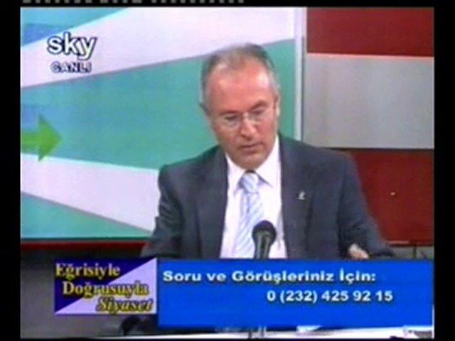 AK Parti Konak İlçe Başkanı Latif ÖZKAN'ın sky tv 11.10.2010 | PopScreen