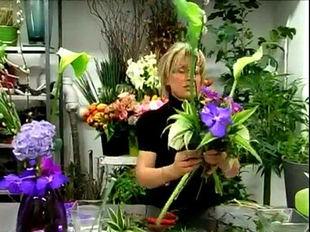 Bouquet Cage Cr Ation De Votre Fleuriste Popscreen