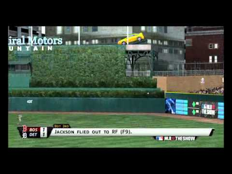 MLB 12 The Show - Red Sox@Tigers: Highlight Reel | PopScreen