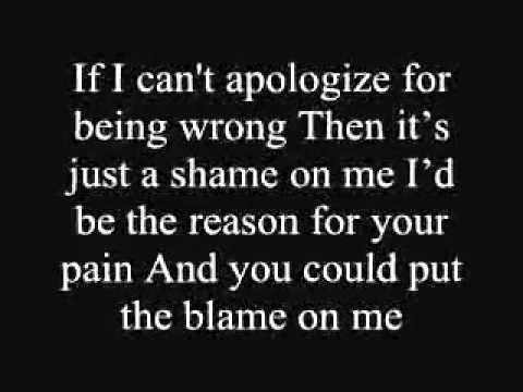 Akon – Sorry, Blame It On Me Lyrics   Genius Lyrics