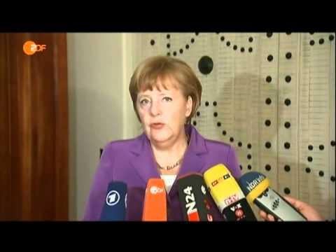 Merkel hat sich von Obama neue Anweisungen abgeholt in Form von überteuerten Tortillas | PopScreen