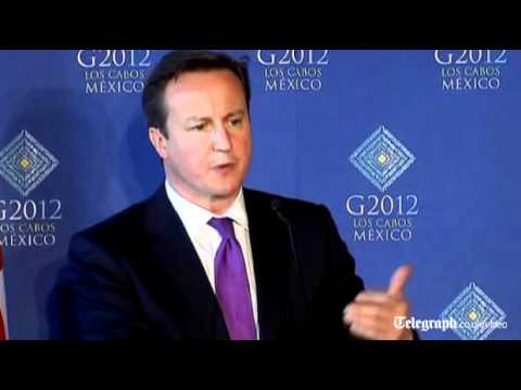 David Cameron: Falklands self-determination is important | PopScreen