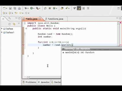 how to create a random number in java
