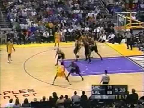 2001 NBA Playoffs: Kings at Lakers, Gm 2 part 11/13 | PopScreen