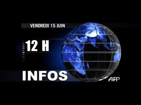 AFP - Le JT de 12H | PopScreen