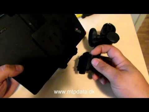Universal Tablet PC Holder til montering på nakkestøtten i bilen | PopScreen