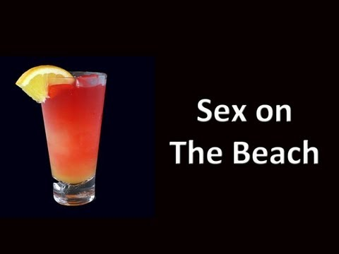 Sex On The Beach Cocktail Drink Recipe | PopScreen