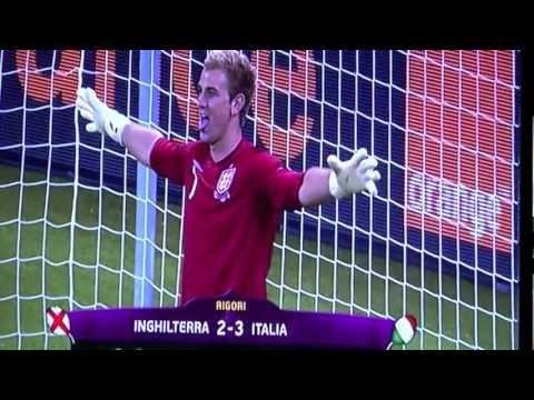 Rigori Italia Inghilterra Europei 2012 | PopScreen