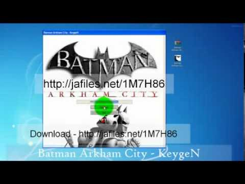2012-Â BATMAN ARKHAM CITY Serial Key Generator New 2012 PC,PS3.