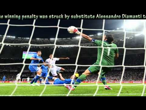 Germany vs Italy at EURO 2012 Semi Final | PopScreen