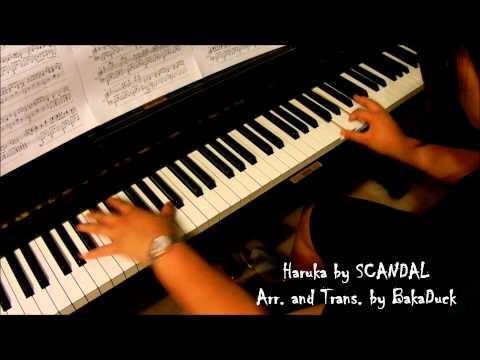 SCANDAL - Haruka ハルカ (piano) | PopScreen