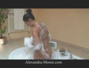 Alexandra Moore - Playing with boobs in the jacuzzi | PopScreen