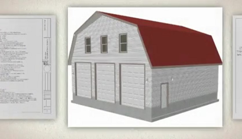 Studio apartment with gambrel barn plans joy studio Barn with apartment plans
