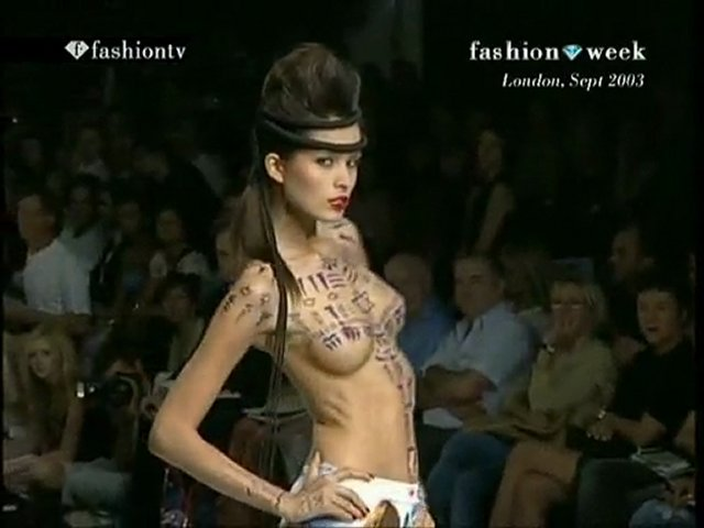 Playful Nipples On The Runway 57 | PopScreen