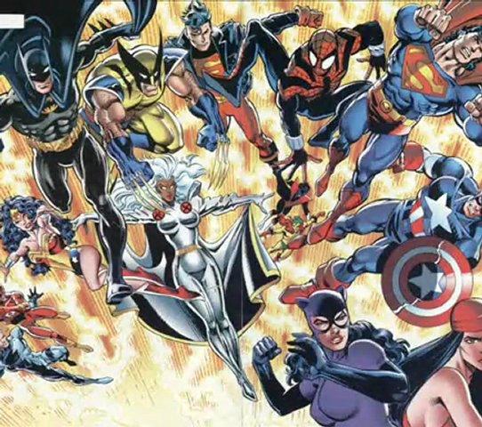 DC Vs. Marvel Comics: Amalgam Universe (Universo Amalgama) | PopScreen