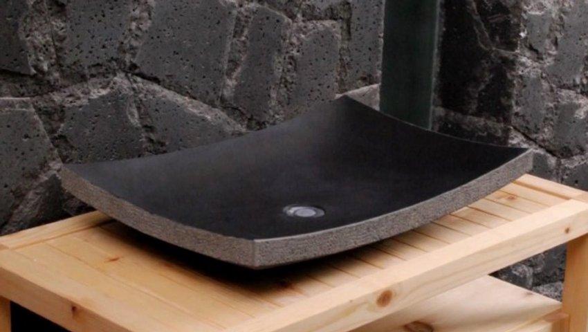VASQUE DE SALLE DE BAIN en pierre - fabrication et ...