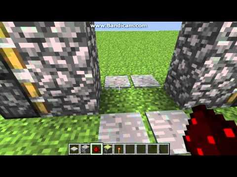 Minecraft tutorial witherskelett farm nether farm de for 10 ways to make a secret door in minecraft