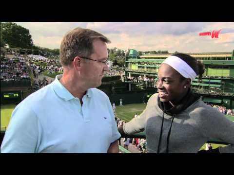 Wimbledon Watch: Sloan Stephens | PopScreen