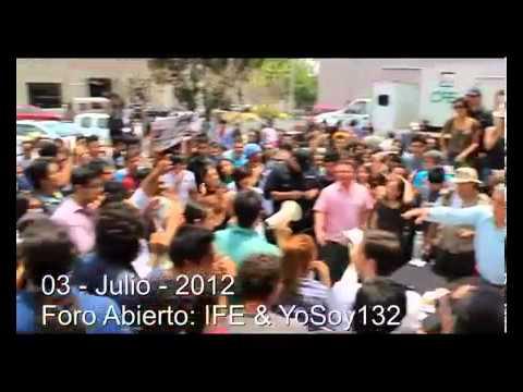 IFE Y #YoSoy132 Hablan Sobre El Fraude Del 2006 (@auctortv) | PopScreen