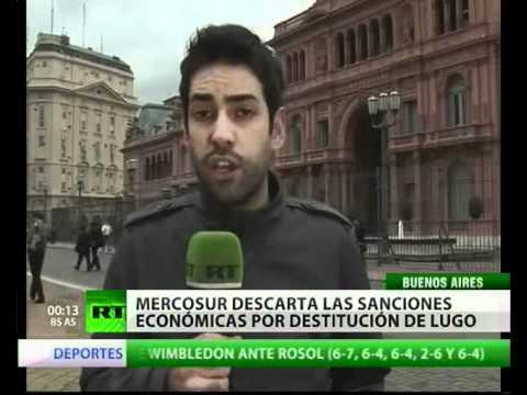Mercosur y Unasur suspenden a Paraguay | PopScreen