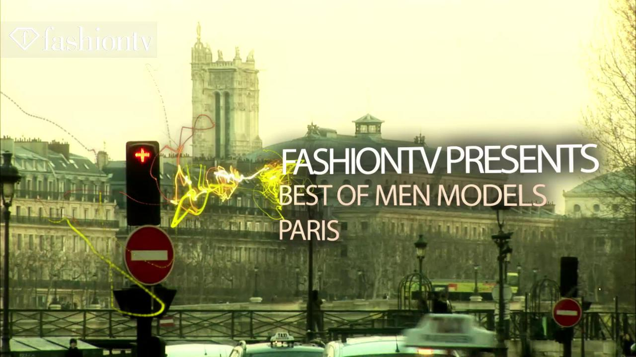 Gorgeous Male Models Winter 2012 Paris Fashion Week | FTV