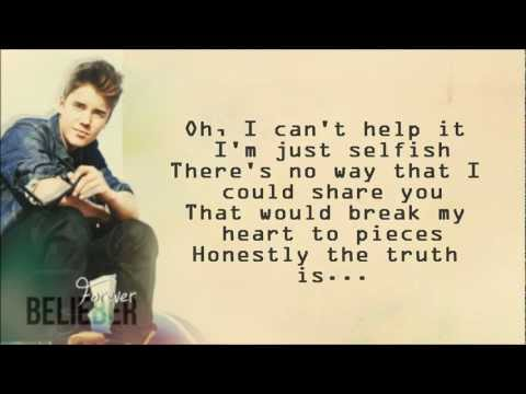 Justin Bieber - Die In Your Arms - Directlyrics