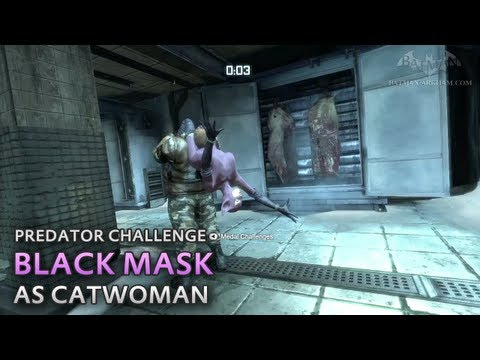 Batman Predator Challenges Arkham City Batman Arkham City Black