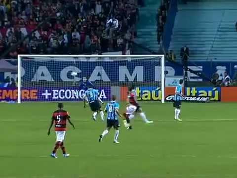 Gremio 2x0 Flamengo - Melhores Momentos - Brasileirão 2012 - 24-06-2012 | PopScreen