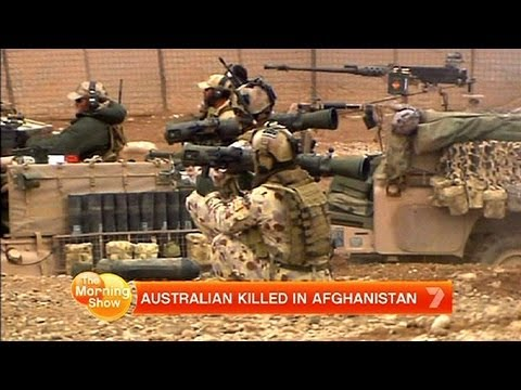 Australian killed in Afghanistan | PopScreen