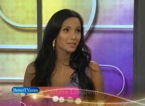 Top Chef Show Padma Lakshmi Interview