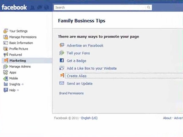 how to create username on facebook page
