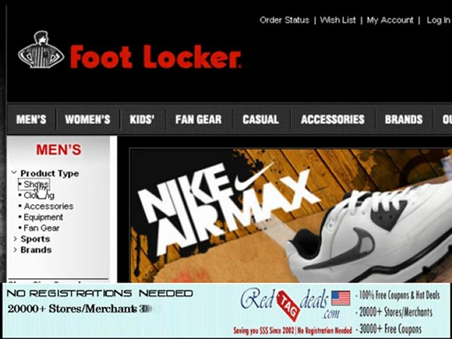 Foot locker coupon code free shipping