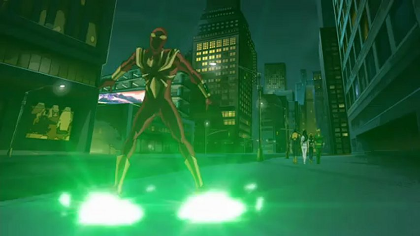 Ultimate SpiderMan - 105 - Flight of the Iron Spider