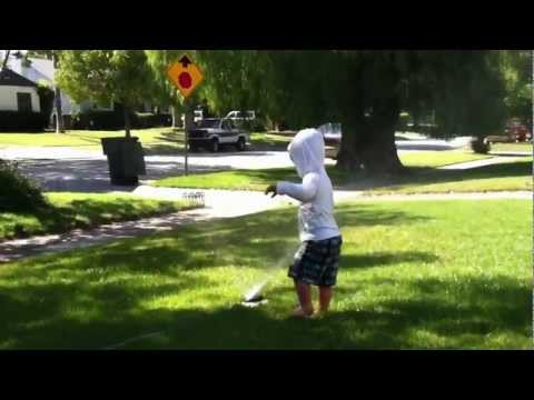 Sprinkler Time at Mema's | PopScreen
