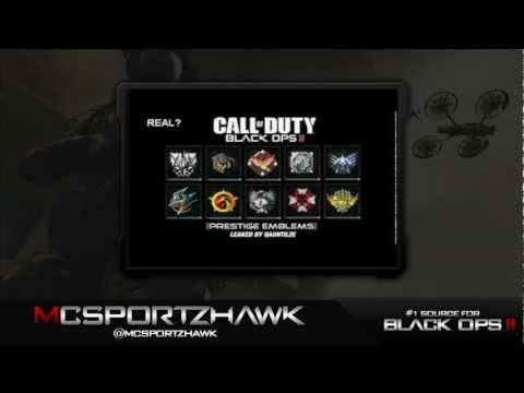 Prestige Emblems Black Ops 2 Black Ops 2 Leaked Prestige
