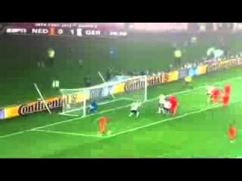 EURO 2012 - Netherlands vs. Germany (Highlights and Goals) HD | PopScreen