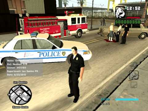 GTA SA | SAPD:FR | Ep 1: Typical Day at the Office | PC ONLY