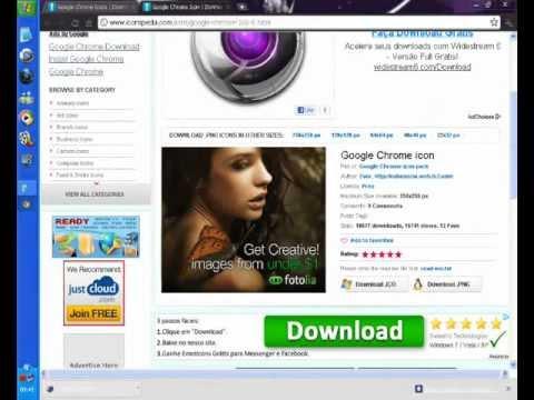 Tutorial: Como baixar e aplicar ícone do Google Chrome   PopScreen