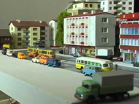 Spur N scale Strassenbahn / tram / Faller car system Teil 2 / part 2 | PopScreen