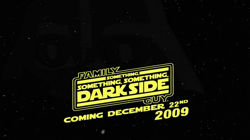 something something dark side You are going to watch family guy season 8 episode 20 something, something, something, dark side this is a full episode of family guy s08e20 something, something, something, dark side.