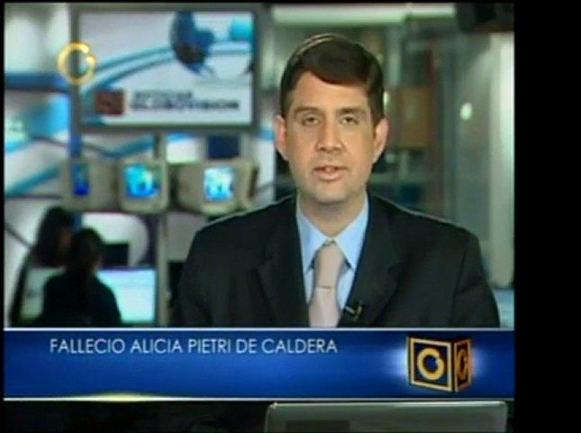 La esposa de Rafael Caldera, Alicia Pietri de Caldera, falle | PopScreen