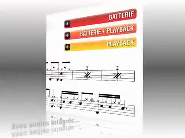 Cours de batterie - Grooves Pop-Rock | PopScreen