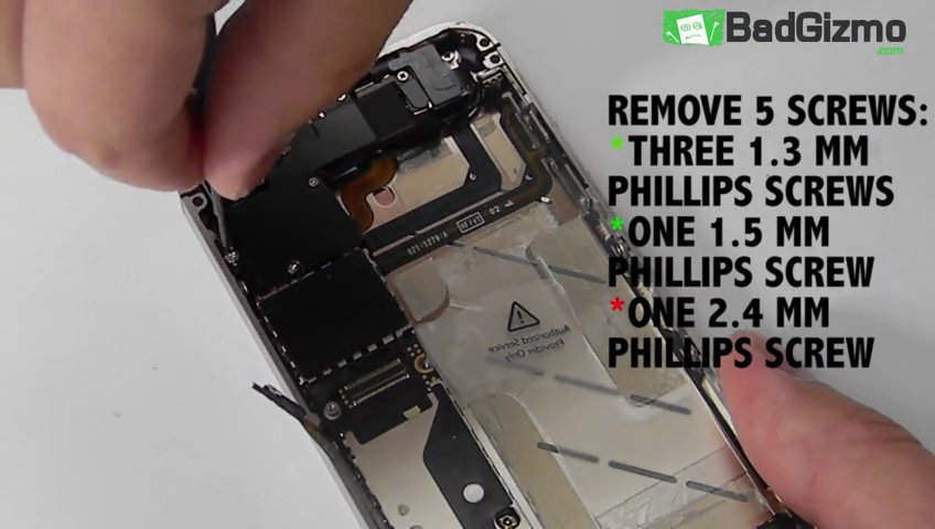 How to install the speaker enclosure in the iPhone 4 CDMA | PopScreen