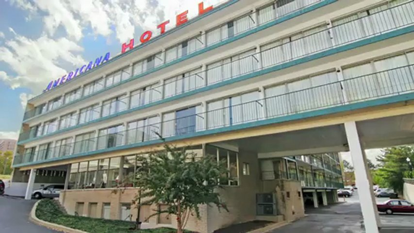 Americana hotel video arlington va travel lodging for Americana hotel nyc